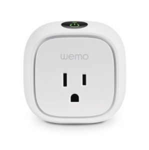 wemo outlet